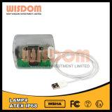 LED Button Head Light, Mini Headlamp with 3.0V Li-ion Battery