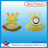 2014 Custom Design Cheap Powerful Magnet Badge