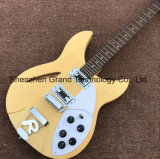 Ricken Back Semi-Hollow Jazz Electric Guitar in Natural Color (JH-8)