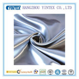 Solid Polyester Silk Satin Fabric for Home Textiles