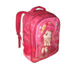 Girl Cartoon School Backpack /Student Bag (BSH20704)