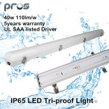 IP65 Waterproof Light 20W 40W 60W 1.5m   LED Warehouse Lamp