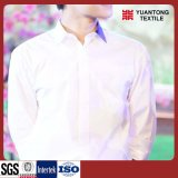 Combed Cotton/Polyester 60/40 Bleached Shirt Fabric