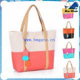 Bw-1-184 Wholesale Canvas Bag Shopping Fashion Bag Women′s Tote Bag