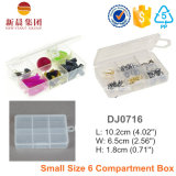 PP Material 6 Compartment Smal Storage Box