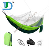 260*140cm Green Camping Hammock Tent with Mosquito Net