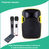 Professional Portable Wireless Multimedia Speaker - Projector