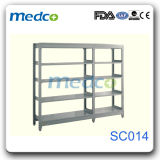 Hospital Storage Furniture Shelf Stainless Steel Cupboard for Medical Use