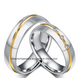 Customized Wholesale 316L Stainless Steel Wedding Ring Titanium Wedding Ring Sets