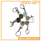 Cheapest Trolly Coin Key Chain for Marketing (YB-MK-10)