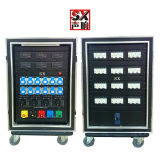 Socapex Electrical Box with RCD Breaker for Stage Event