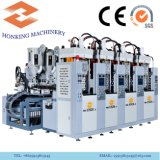 Vertical Shoe Sole Making Injection Moulding Machine