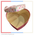 Confectionary Heart Shaped Gift Box for Chocolate and Candy