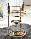 Stainless Steel and Wheel Service Trolley (DJ-01#)