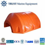 Ship HDPE Plastic Beach Floater for Dredge Pipeline