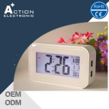 Rechargeable Night Light Sensor Digital LED Clock with USB Charger