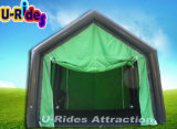 0.9mm PVC Tarpaulin Inflatable Tent for Camping Use