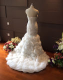 Wholesale Real Sample Wedding Dress with Tiered