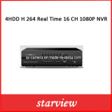 4HDD H. 264 Real Time 16 CH 1080P NVR