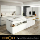 Popular White Wholesale Chinese Wooden Kitchen Cabinet Tivo-0011V