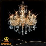 Hotel Decoration Projection Crystal Chandelier Lighting (MD96016-8+4)