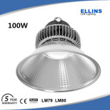 Indoor 100W LED High Bay Light Fixture with Frosted Cover