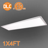 UL Dlc 1X4FT LED Panel Light 32/36/40W, 85-130lm/W