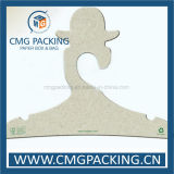 Wholesale Logo Printed Custom Recycled Paper Clothing Hanger with Free Design