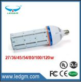 2017 Wholesale SMD 2835/3030/5630AC85~265V 45/54/60/80/100/120W Dimmable LED Corn Bulb for Garden Light