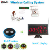 433 MHz Customer Guest Call Button Wireless Pager System