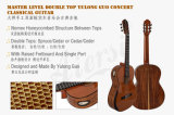Free Shipping Double Top Concert Solid Classic Guitar (GC04A)