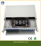 19 Inch 24/48 Core Rack Mount ODF Fiber Optic Distribution Box