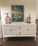 New Classical White Lacquer Cabinet