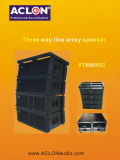 VT622 Large Output Three Way Line Array Speaker