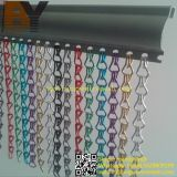Hanging Aluminum Chain Link Fly Screen Curtains Designs for UK