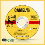 "4"" 100X2.5X16mm T41 Flat Camel Cutting Disc"
