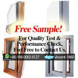 Free Sample! Wooden Window for Quality Test and Performance Check, Cut-Section of Wood Aluminum Quality Window