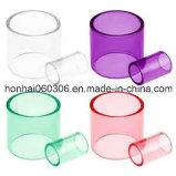 Color Pyrex Glass Tank Tube