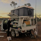 Fiberglass Hard Shell Tent off Road Camping Car Roof Top Tent