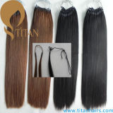 Korea Virgin Hair Pre Bonded Cotton String Hair Extension
