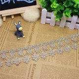 Embroidery Factories Stock Wholesale 11.5cm Width Embroidery Polyester Lace