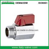 Polishing Chromed Brass Mini Ball Valve (AV1045)