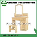 Pine Wood Mirrored Furniture with Cabinet (W-LZ-510)