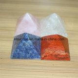 Semi Precious Stone Crystal Pyramid