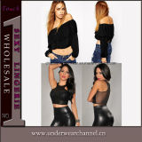 Fashion Ladies Summer Cotton Racerback Tank Tops Crop Tops (25433)