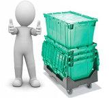 Plastic Roller Container, Storage Box (PK6040)