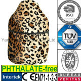CE Luxury Plush Leopard Fur for Hot Water Bottle Cover