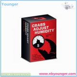 Crabs Adjust Humidity Paper Card Game