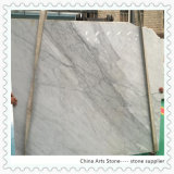 China Wholesale Bianco Carrara White Marble Slab for Tile and Countertop