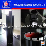 102mm Hammer Drilling Crown for Drilling Materials for Concrete Brick Stone